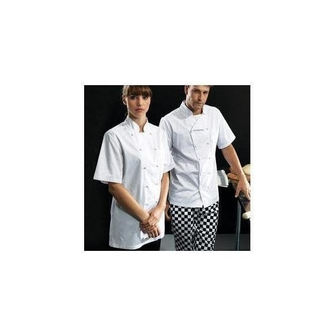 Premier 'Ambassador' short sleeve chef's jacket