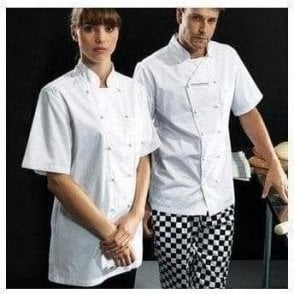 'Ambassador' short sleeve chef's jacket
