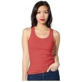 American Apparel Women's rib boy beater tank
