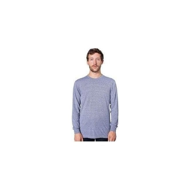 American Apparel Tri-blend long sleeve t-shirt (TR407