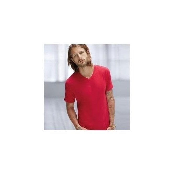 Anvil Anvil featherweight v-neck tee