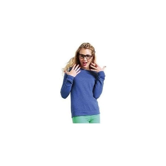 AWDis Hoods Girlie heather sweatshirt
