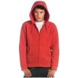 B&C Collection Hooded full zip men's sweatshirt