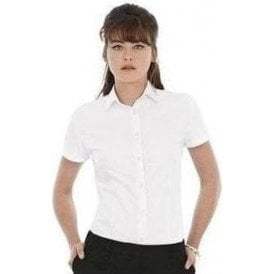 B&C Collection Heritage short sleeve women's shirt