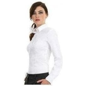 B&C Collection Sharp long sleeve women's shirt