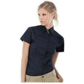 B&C Collection Sharp short sleeve women's shirt