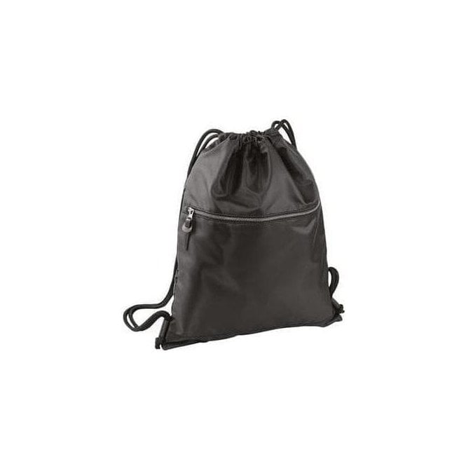 BagBase Onyx drawstring backpack