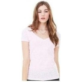 Bella+Canvas Burnout v-neck t-shirt