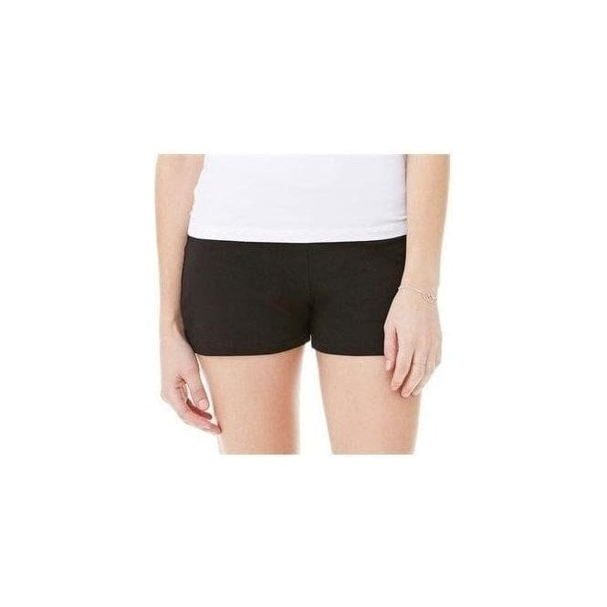 Bella+Canvas Cotton Spandex fitness shorts