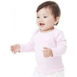 Bella+Canvas Long-sleeve baby rib t-shirt