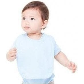 Bella+Canvas Reversible baby rib bib