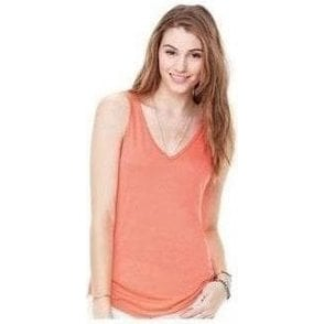 Bella+Canvas Flowy v-neck tank top