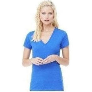 Bella+Canvas Jersey deep v-neck t-shirt