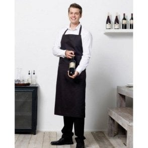 Bistro By Jassz Bib Apron With Pocket