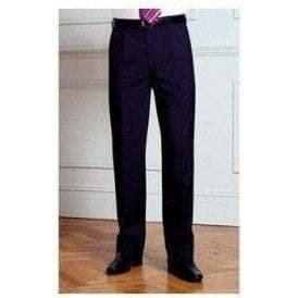 Brook Taverner Imola - single pleat trousers