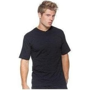 Cafe bar top v-neck short sleeve