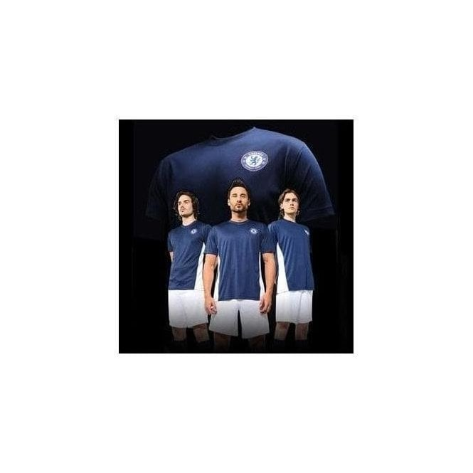 Official Football Merch Chelsea FC Adults Performance T-shirt