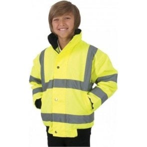 Children's Hi-Vis Bomber Jacket