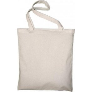 Classic Long Handle Canvas Tote