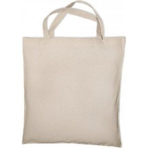 Classic Short Handle Canvas Tote