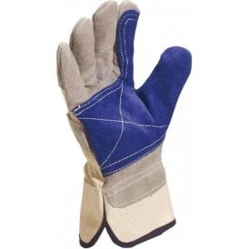 Delta Plus Cowhide Split Leather Glove