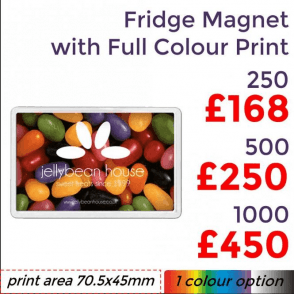 Fridge Magnet With Full Colour Print