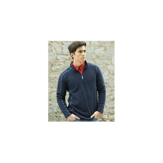 Front Row 1/4 zip microfleece
