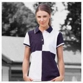 Front Row Women's quartered house polo