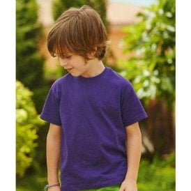 Fruit of the Loom Kids valueweight tee