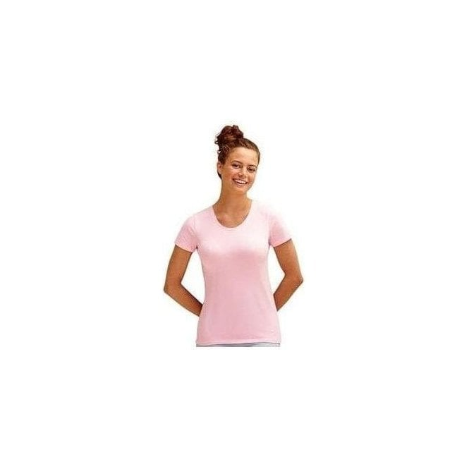 Fruit of the Loom Lady-fit crew neck tee
