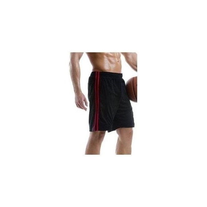 Kustom Kit Gamegear Cooltex sports short with side stripes