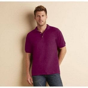 Ultra Cotton combed ringspun adult pique polo