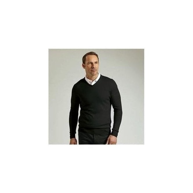 Glenmuir V-neck Merino wool sweater (MKN7216VN)