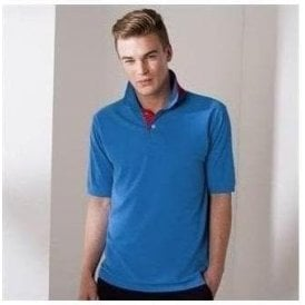 Henbury Contrast 65/35 polo