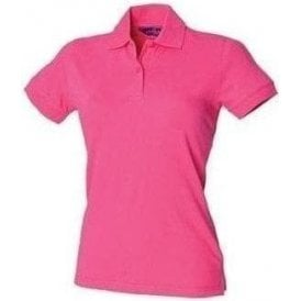Henbury Women's stretch pique polo