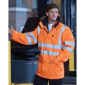 Hi Vis Multi-Function 7-In-1 Jacket