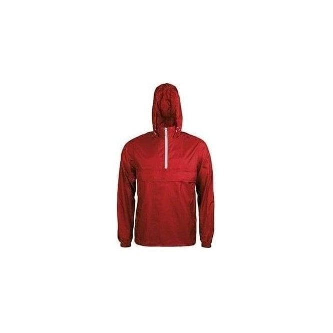 Kariban 1/4 Zip unlined windbreaker