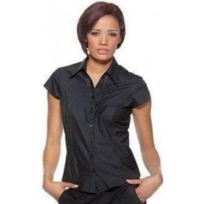 Bargear Women's bar blouse cap sleeved