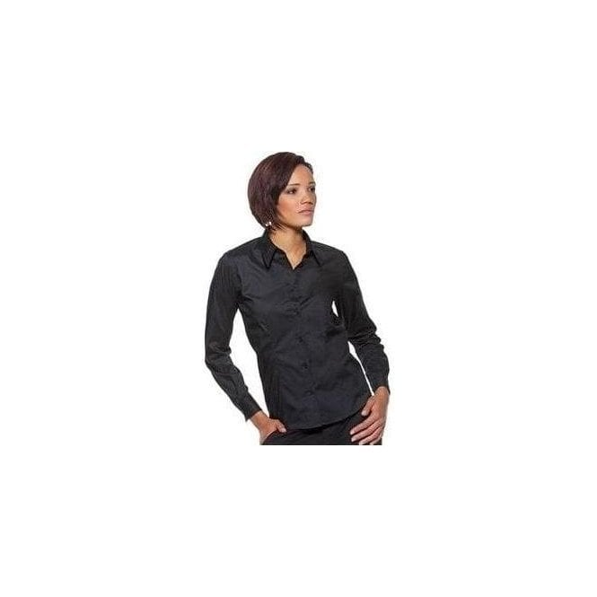 Kustom Kit Bargear Women's bar shirt long sleeve