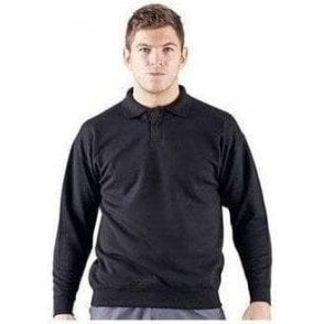 ColourSure polo plaquet sweat top