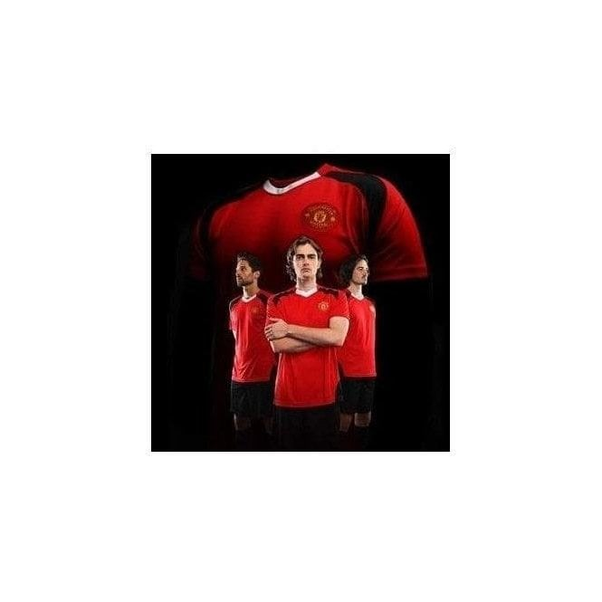 Official Football Merch Manchester United FC Adults Performance T-shirt