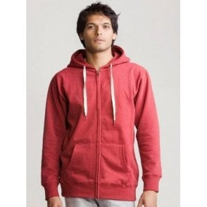 Mens Superstar Zip Through Hoodie