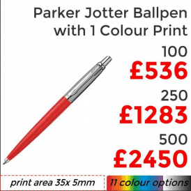 Jotter Ballpen With Single Colour Print