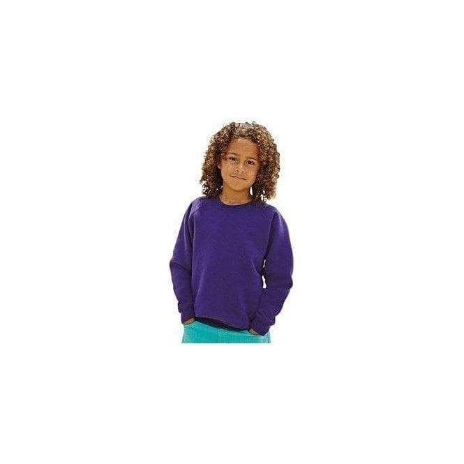 Fruit of the Loom Premium 70/30 kids raglan sweat