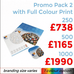 Promo Pack 2 With Full Colour Print