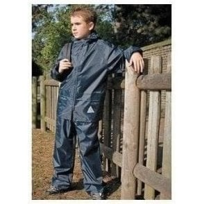 Junior heavyweight waterproof jacket/trouser suit