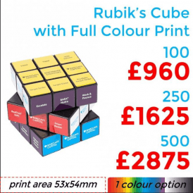 Rubik's Cube With Full Colour Print