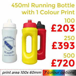 Running Bottle With Single Colour Print