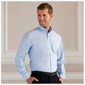 Russell Collection Long sleeve Oxford shirt
