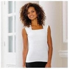 Russell Collection Sleeveless stretch top